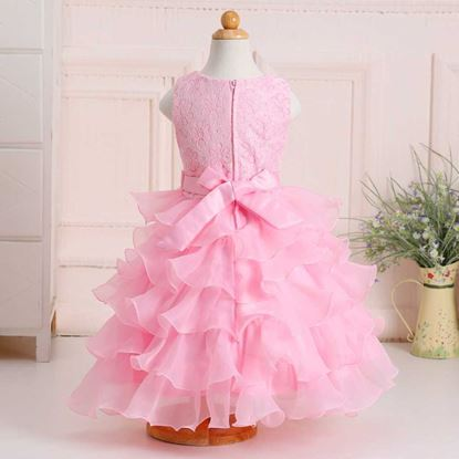 Fairy pink frock for girls by lilchamps
