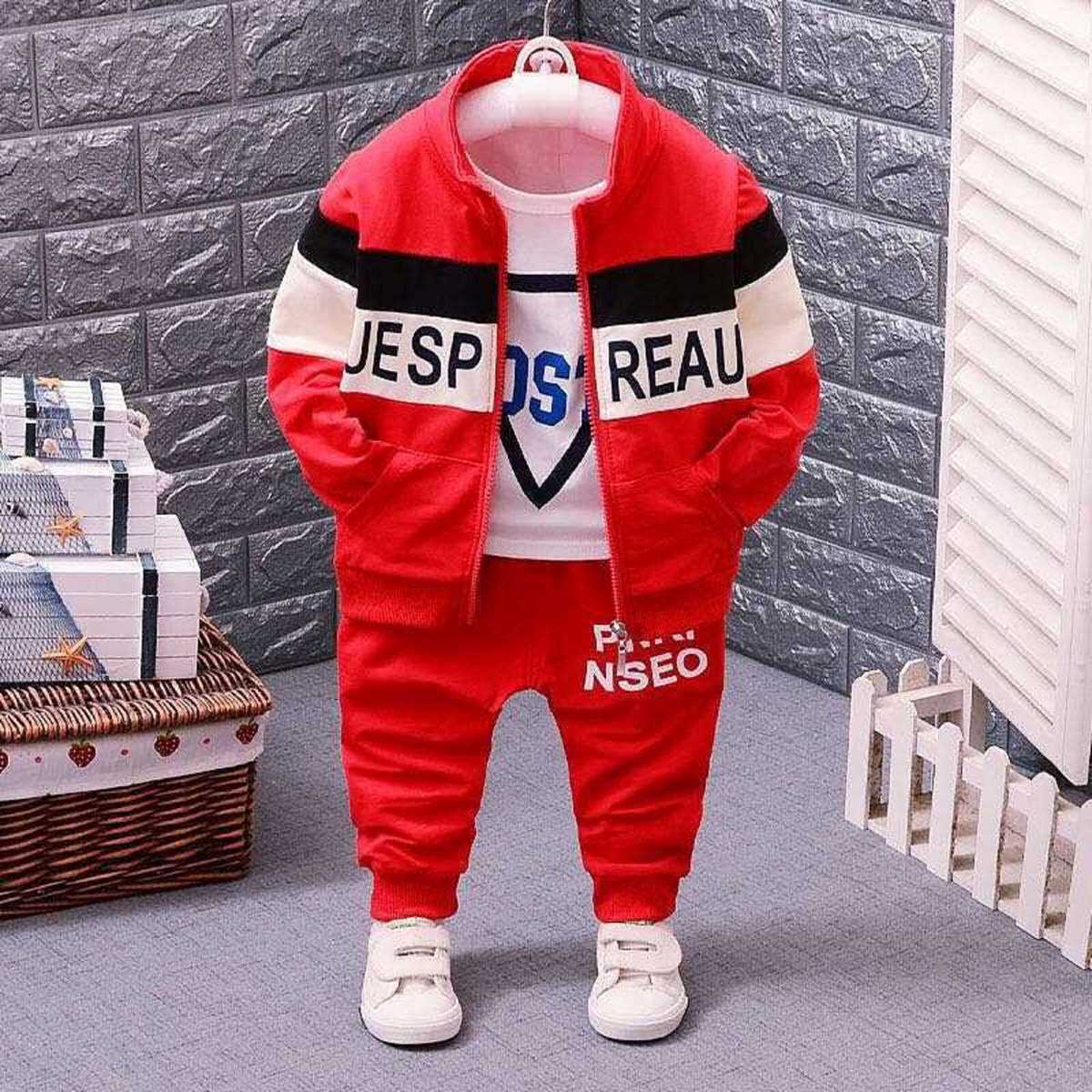 6-12 Month 3 PCS Jacket for Baba - Lil'Champs