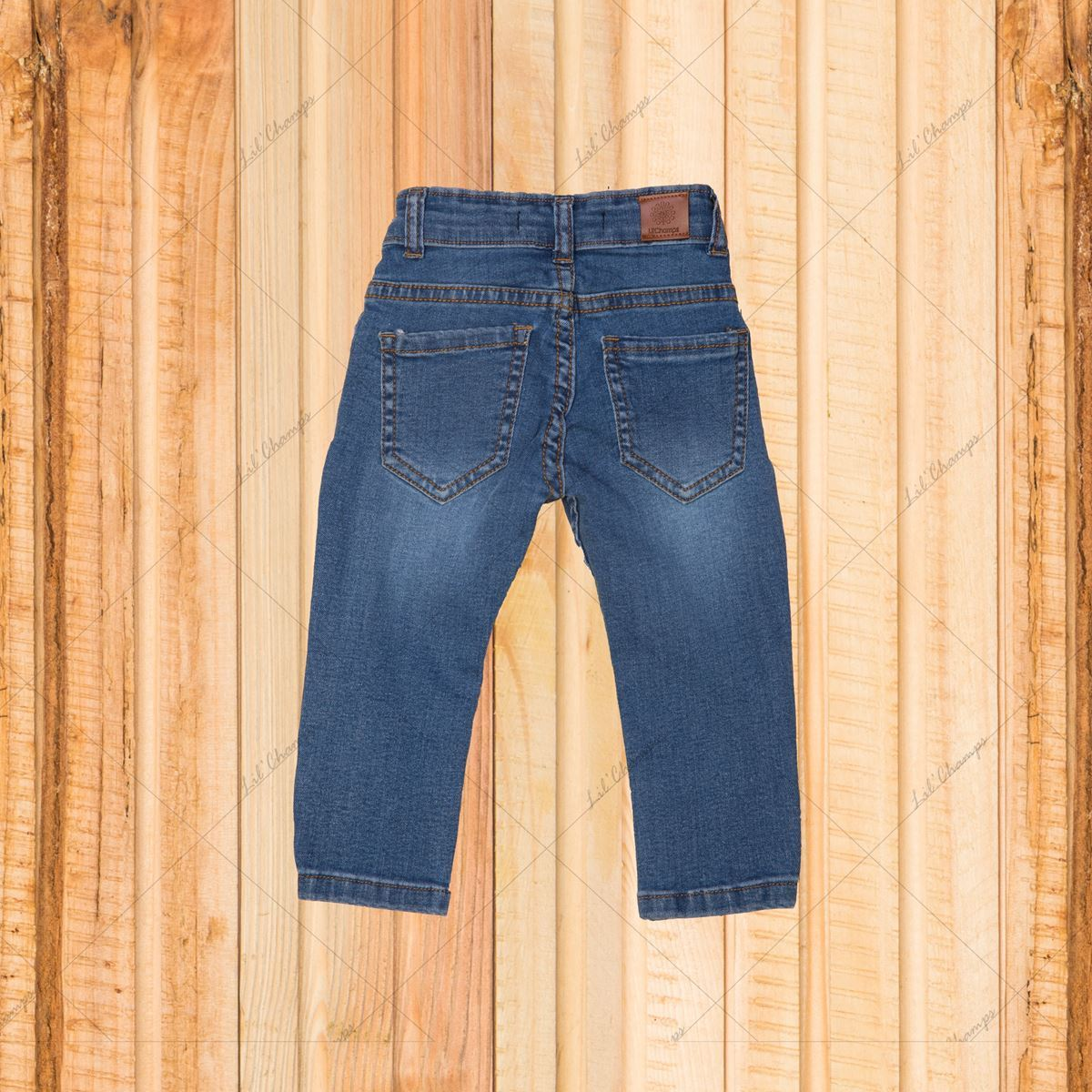 Indigo-Denim For Infant Boys-Lilchamps