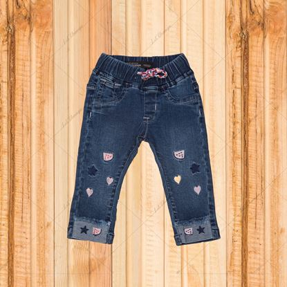 Super denim Super Stretch Embroidered Jeans-lilchamps