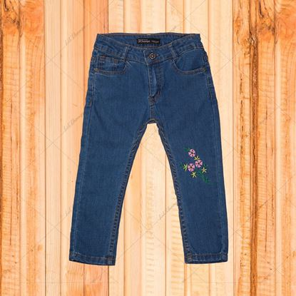 Embroidery Jeans for Girls -Lilchamps