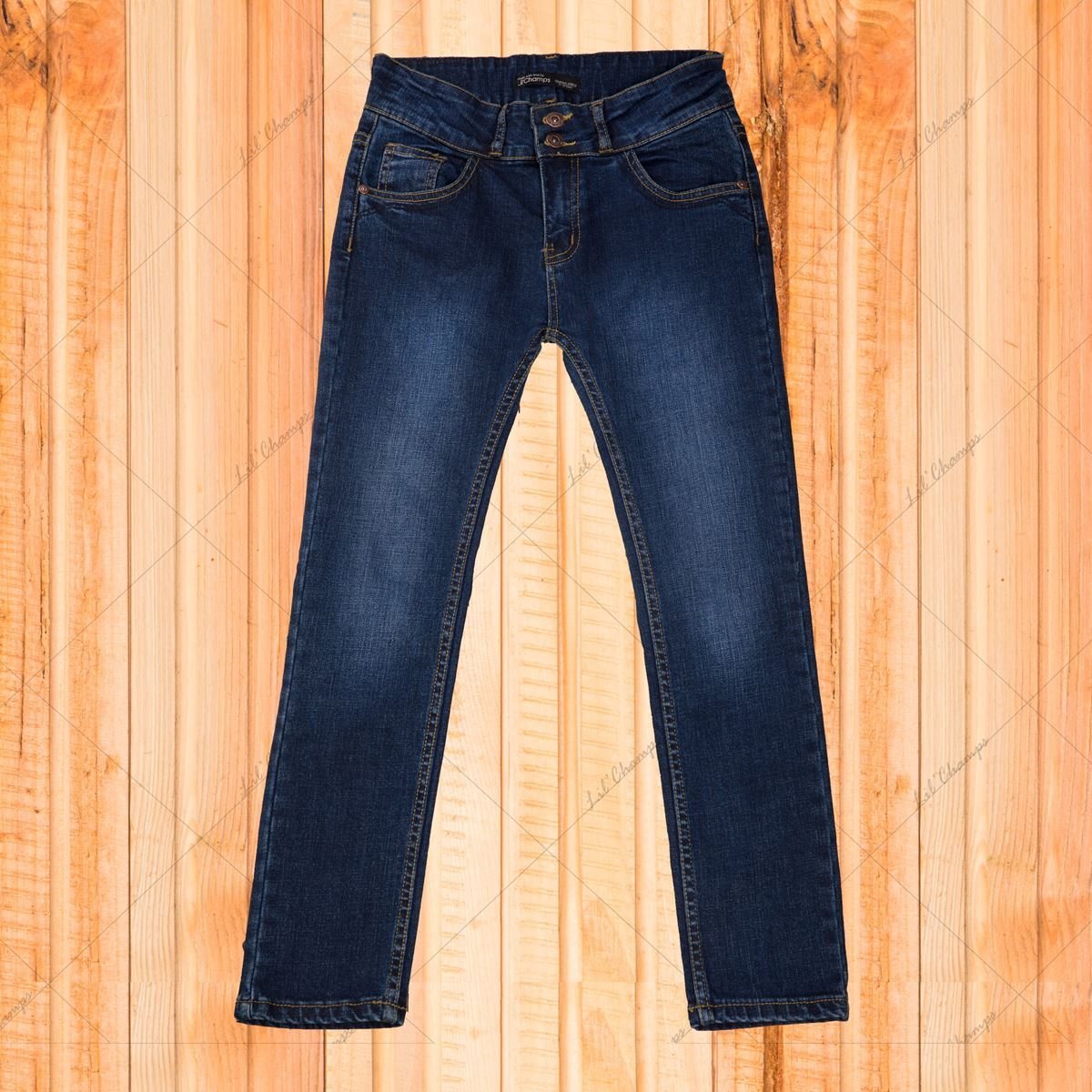 Girls Stylish Jeans in Regular Fit-Lilchamps