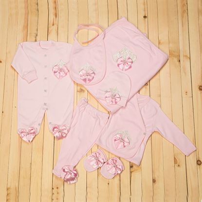 10 PCS Baby girl rompers Dress-newborn baby girl dresses by Lil Champs