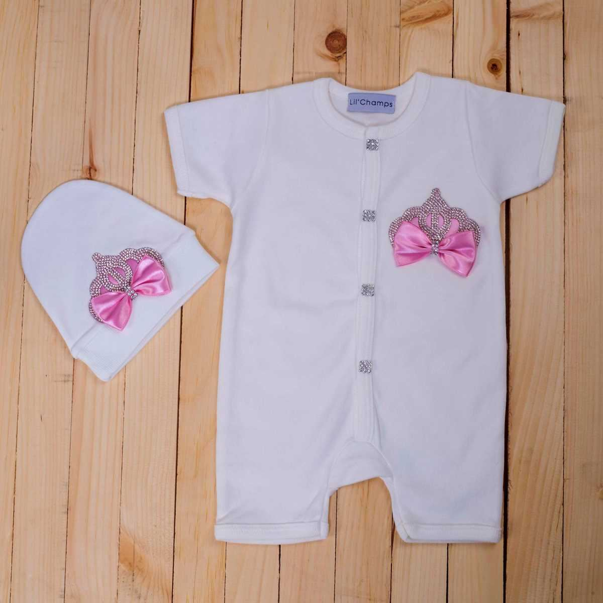 2 Pieces Romper set for Baby Girls-Summer Collection-Lilchamps