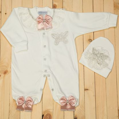 2 pieces Romper Set for Baby Girls-lilchamps