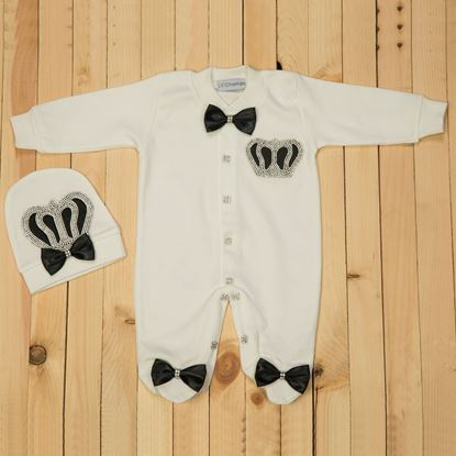2pcs Black & white Set for Boys- lil'champs