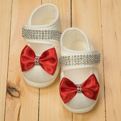 Infant & Toddler Shoes Red and White - lilchamps