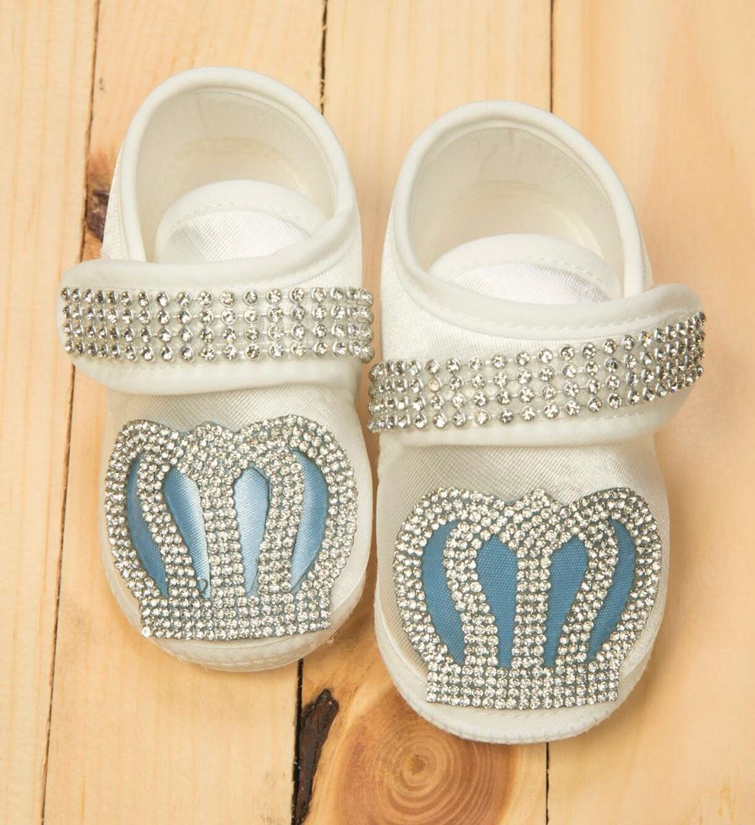 Light Blue and white shoes For Boys -lilchamps