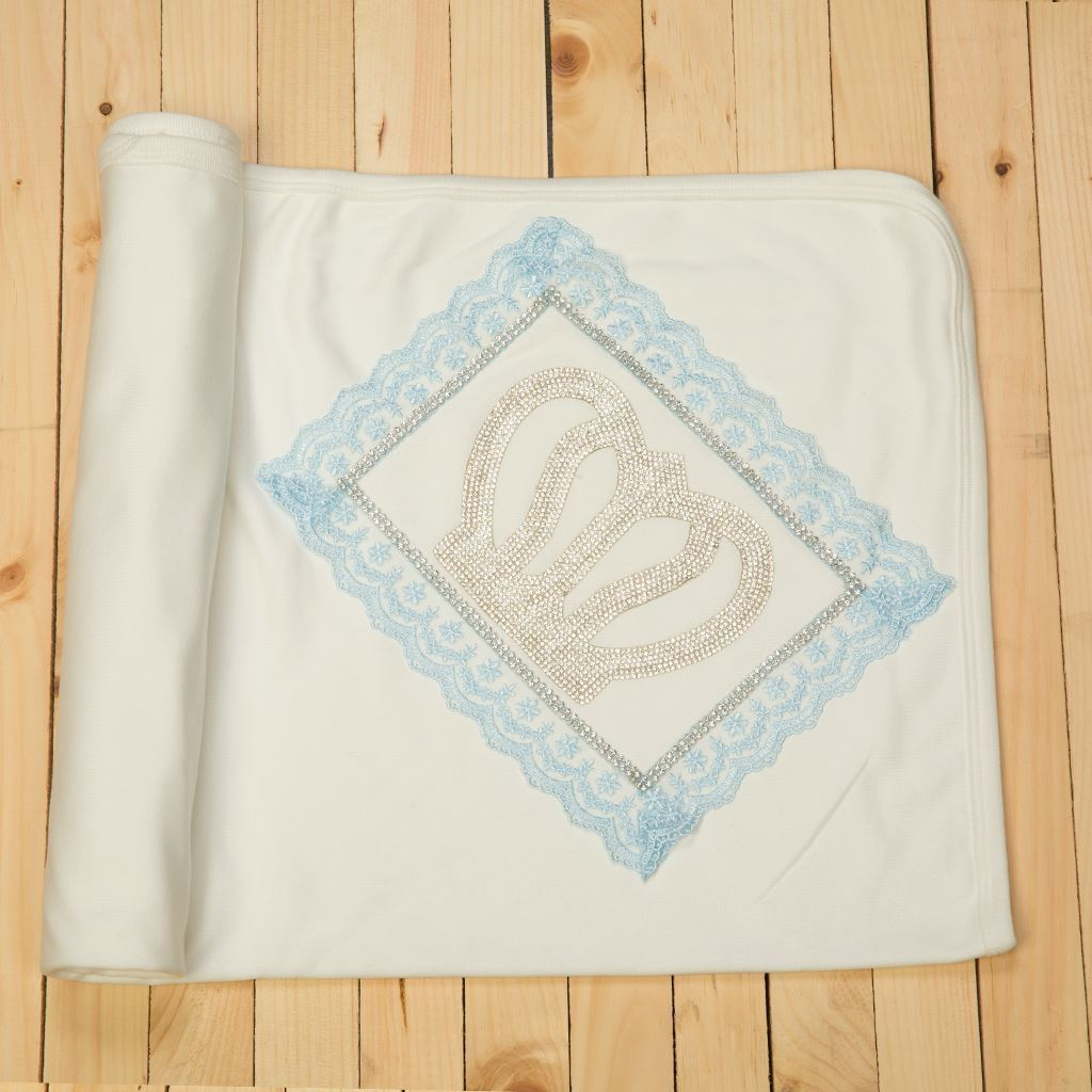 Wrapping Sheet/ Baby Blanket Newborn baby Boys- LilChamps