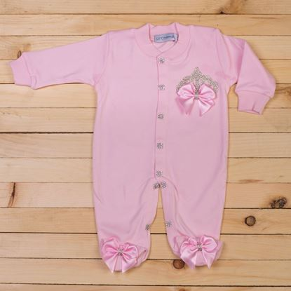 3 pieces Pink Romper set for Girls -lilchamps
