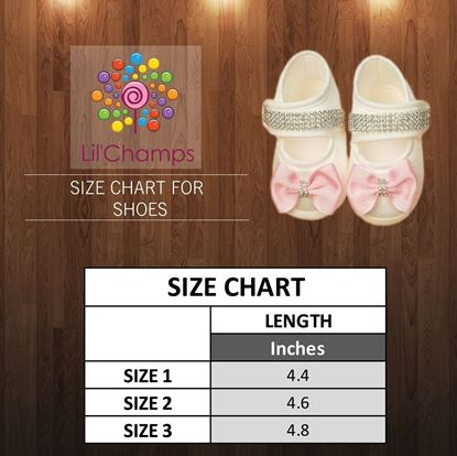 Size Chart- Girls Shoes - Lilchamps