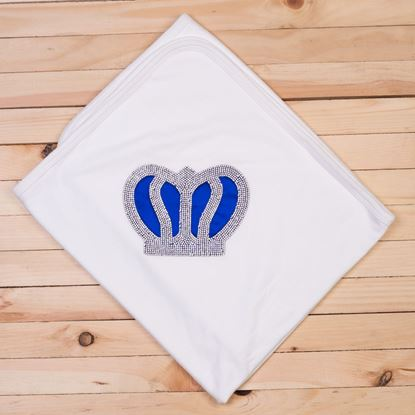 Royal Blue -Newborn Wrapping Sheet/Baby Blanket -lilchamps