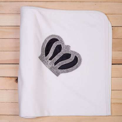 Black-Newborn Wrapping Sheet/Baby Blanket -lilchamps