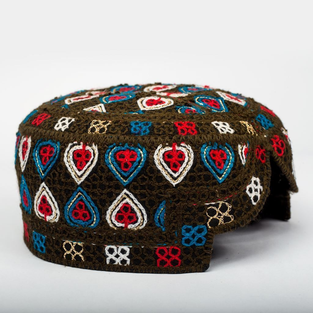 Multi Colors - Hand Made Sindhi Caps-Lilchamps