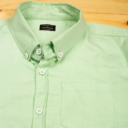 Apple Green Shirt for Boys-lilchamps