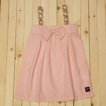 Peach Pink Spaghetti Strap Top for baby girls-Cotton