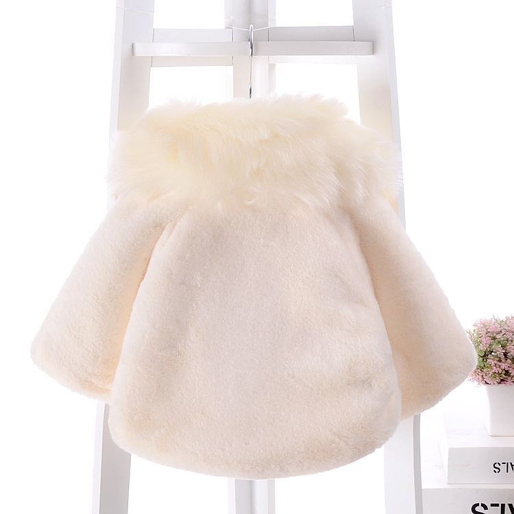Faux Fur Coat for Baby Girls-Lilchamps