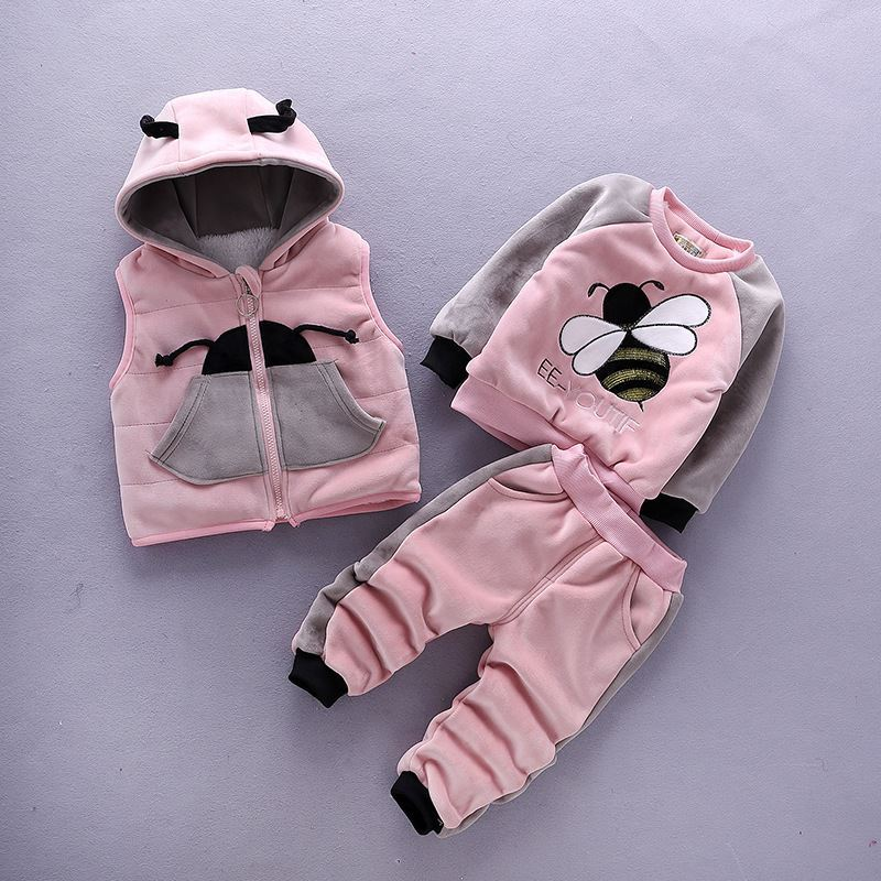 Pink-Winter Faux Fur sets-lilchamps