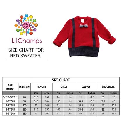 Size Chart - Gallis Style Sweater - lilchamps