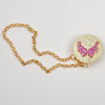 Pacifier chain for babies-Lilchamps