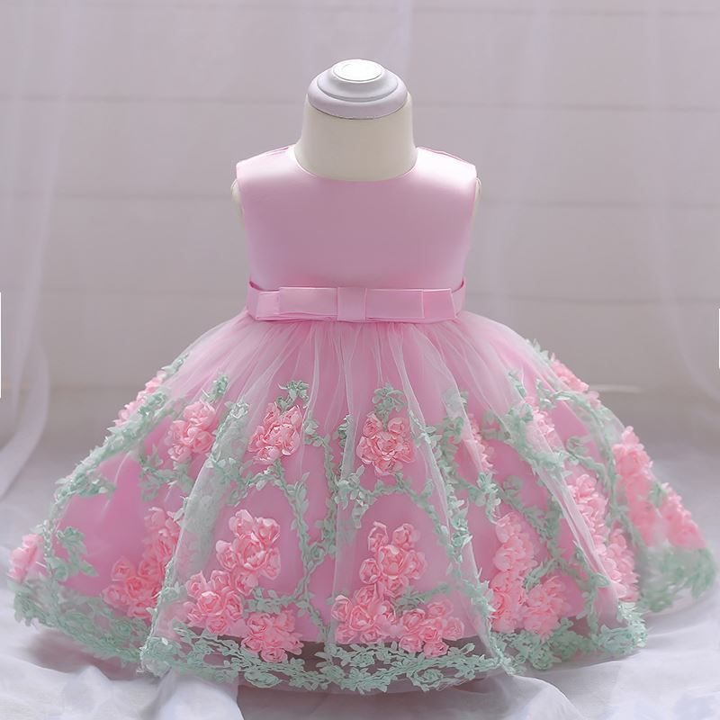 Baby Frock in pink-lilchamp's