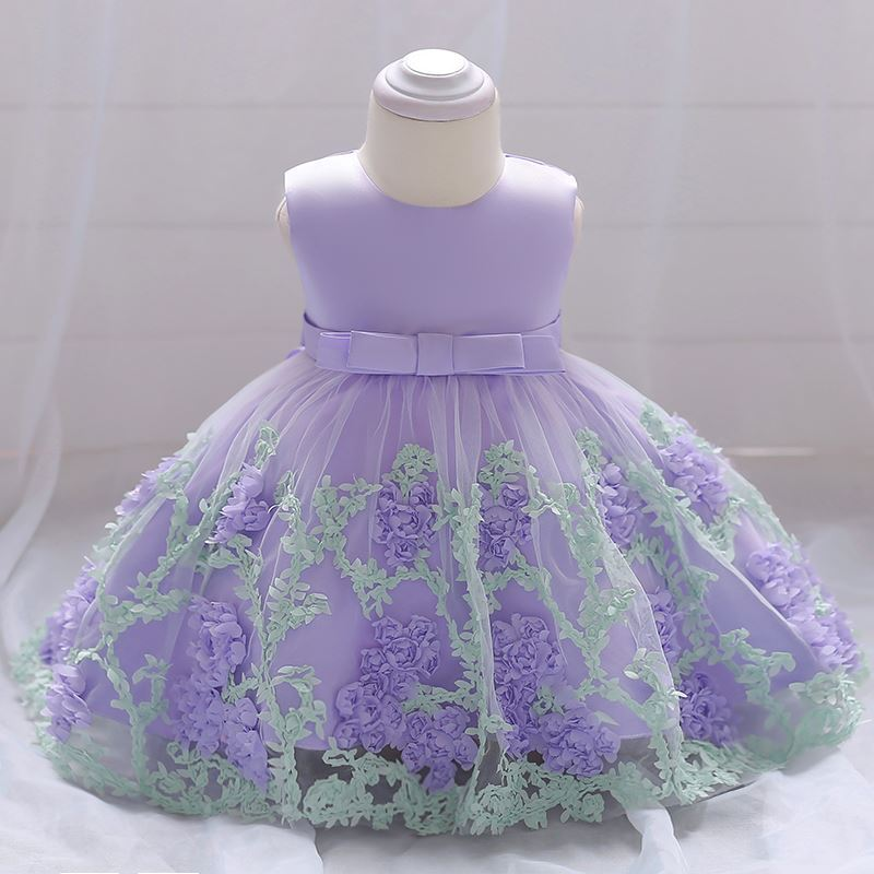 Baby Frock in Purple-lilchamp's
