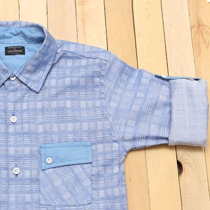 Blue shirt for boys-lilchamps