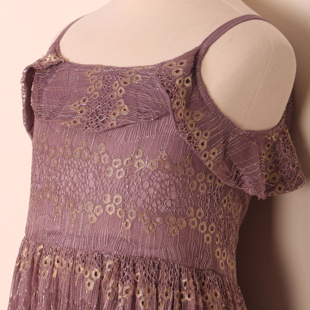 strappy frock for girls-lilchamp's
