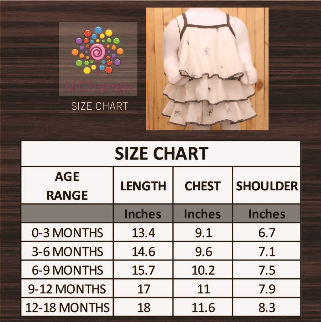 Size chart-lilchamp's