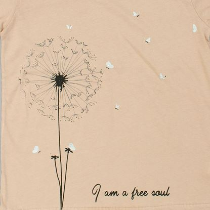 Print-Dandelion t-Shirt For Girls