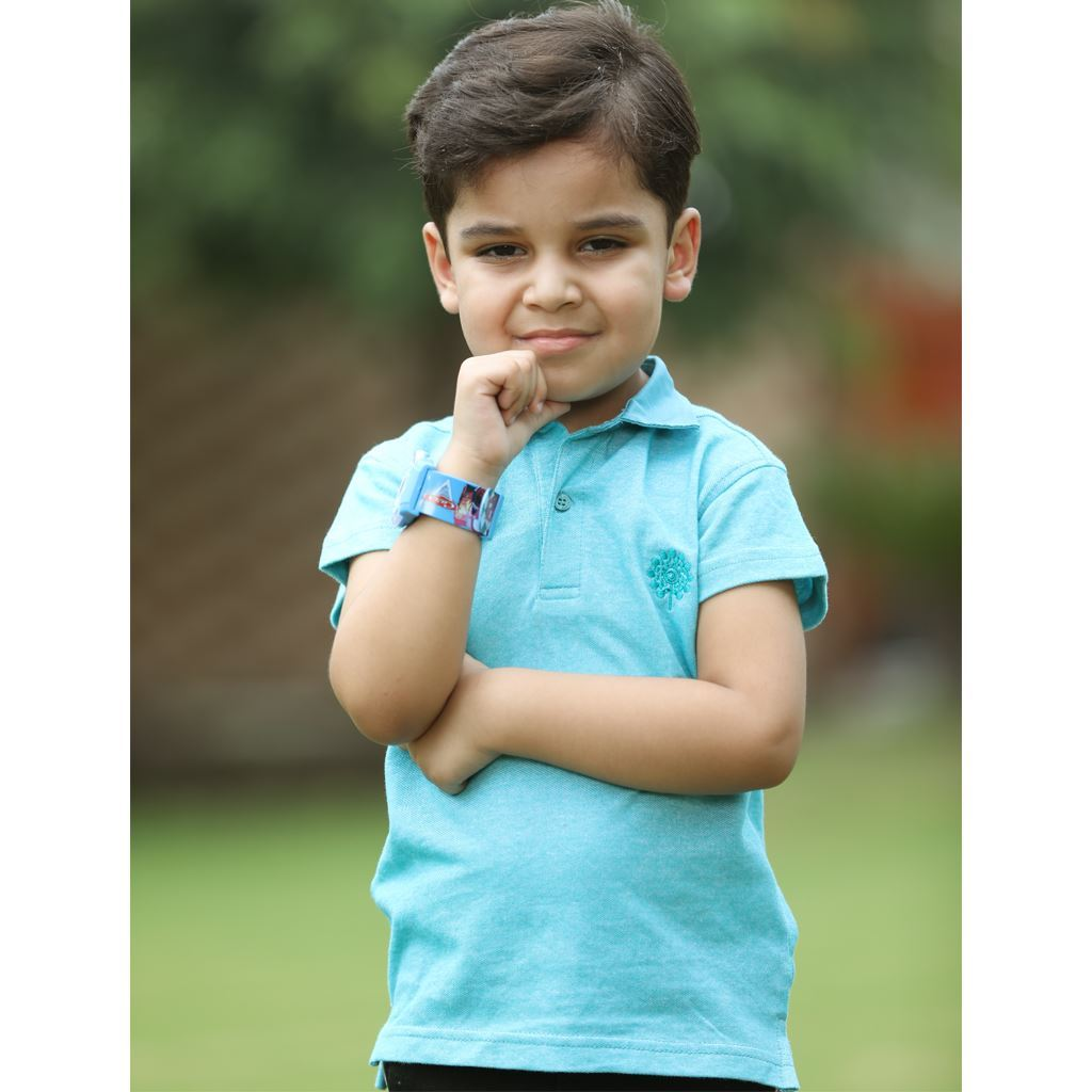 Twill Collar Polo Shirt for Boys