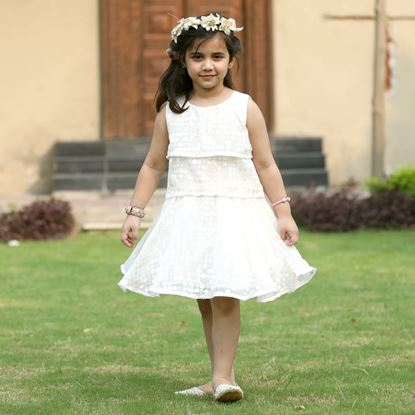 Chiffon Brousha party dress for Girls-front-Lilchamps