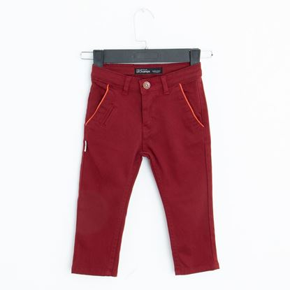 Front-Maroon Twill Pants