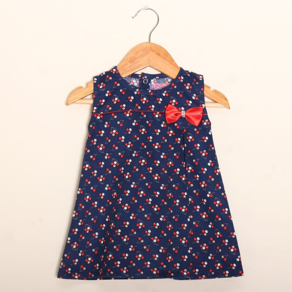 corduroy frock/ dress for Girls by lilchamps