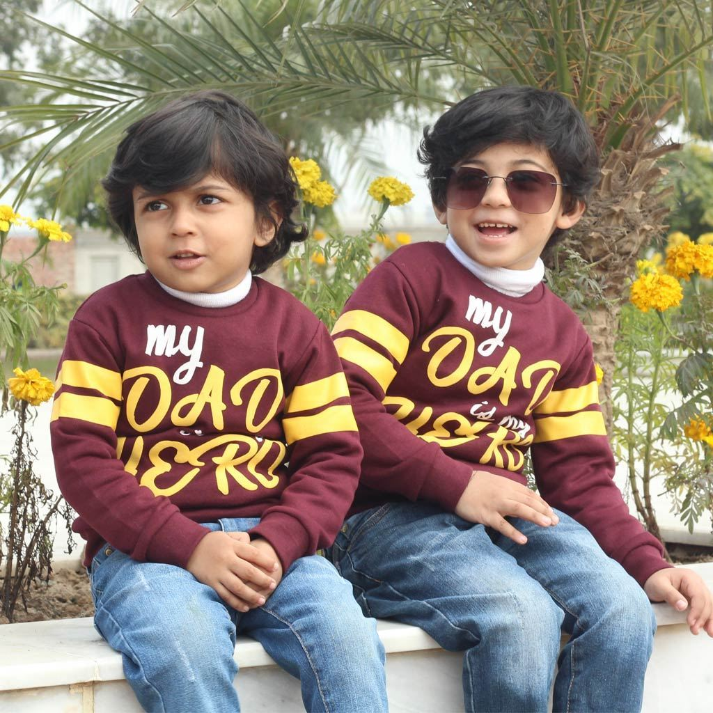 Sweat Shirt for boys by lilchamps