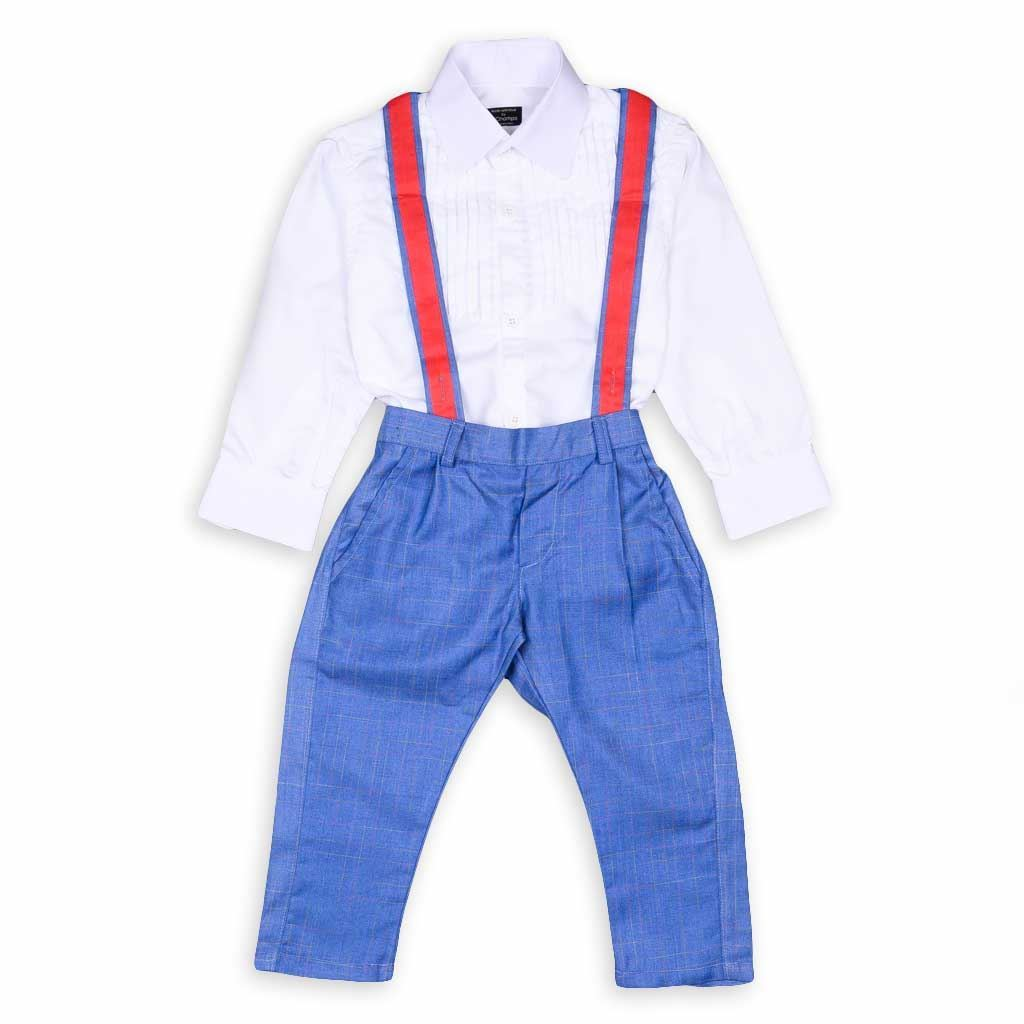 Picture of Gallic Trouser Set For Boys-Wedding/ Party Wear-10151