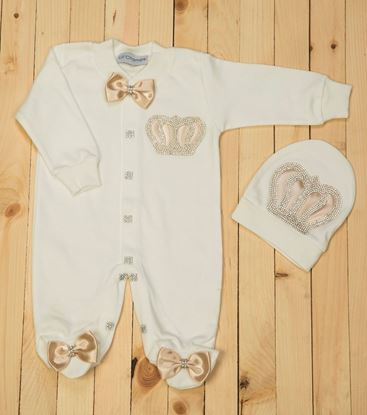 2pcs  Gold & white Set for Boys- lil'champs