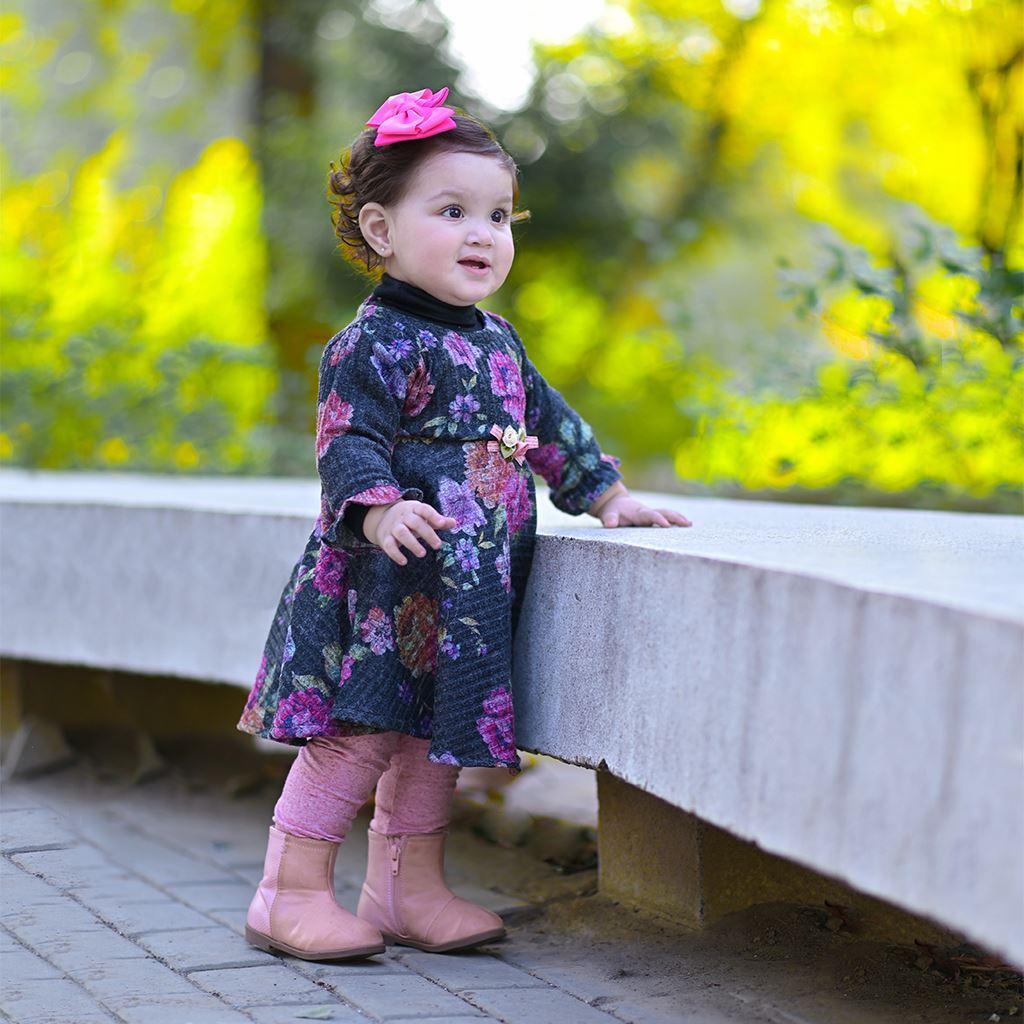 Winter dress for girls by lilchamps