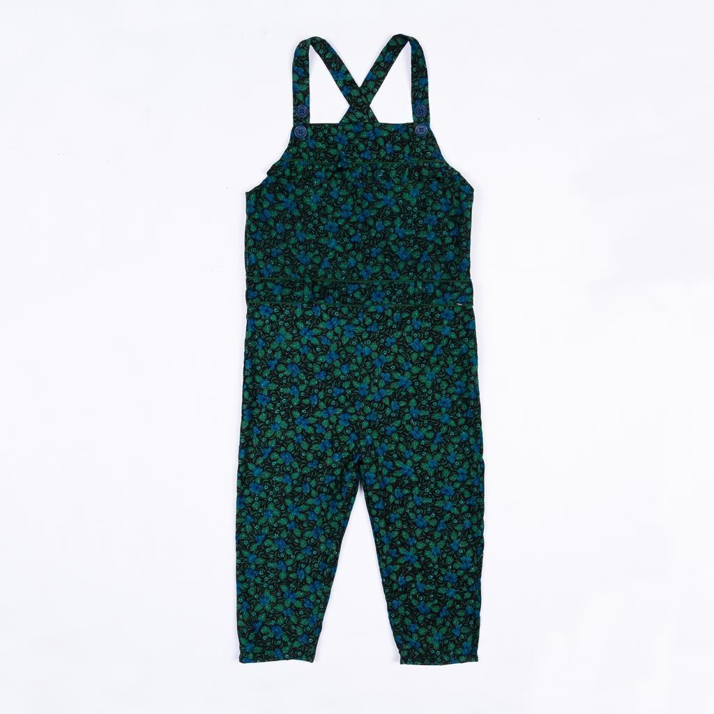 Corduroy dungaree for girls by lilchamps