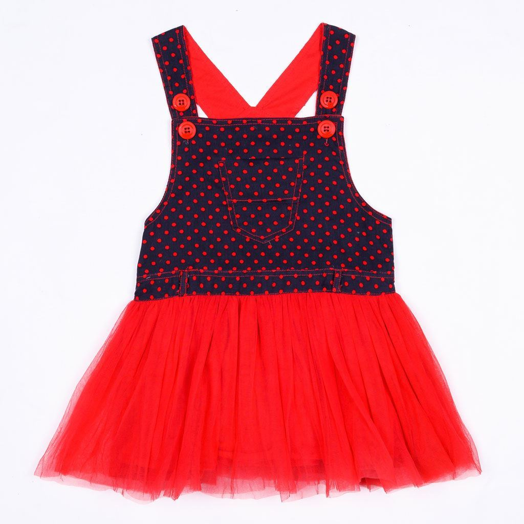 Cute dungaree dress for girls by lilchamps
