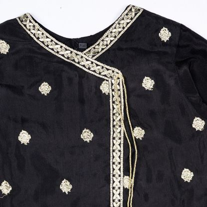 Angrakha and ghrara dress for girls by lilchamps