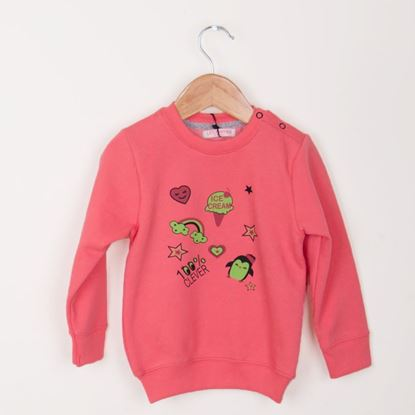 Picture of Ice Cream !! Sweat Shirt For Girls-10293