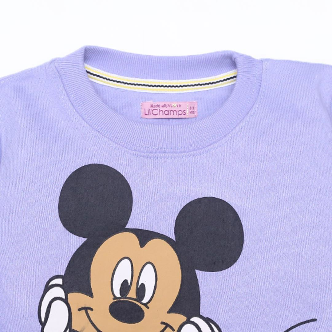 mickey mouse sweatshirt for girls by lilchamps
