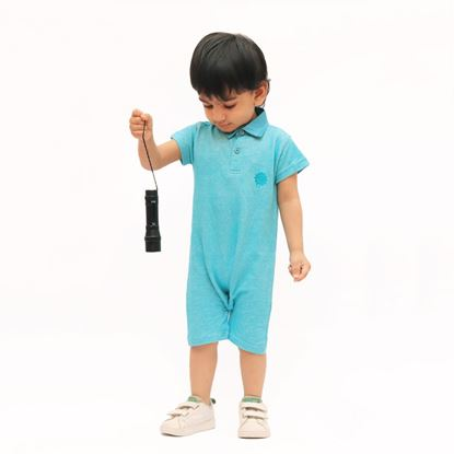 Polo romper for baby boys by lilchamps
