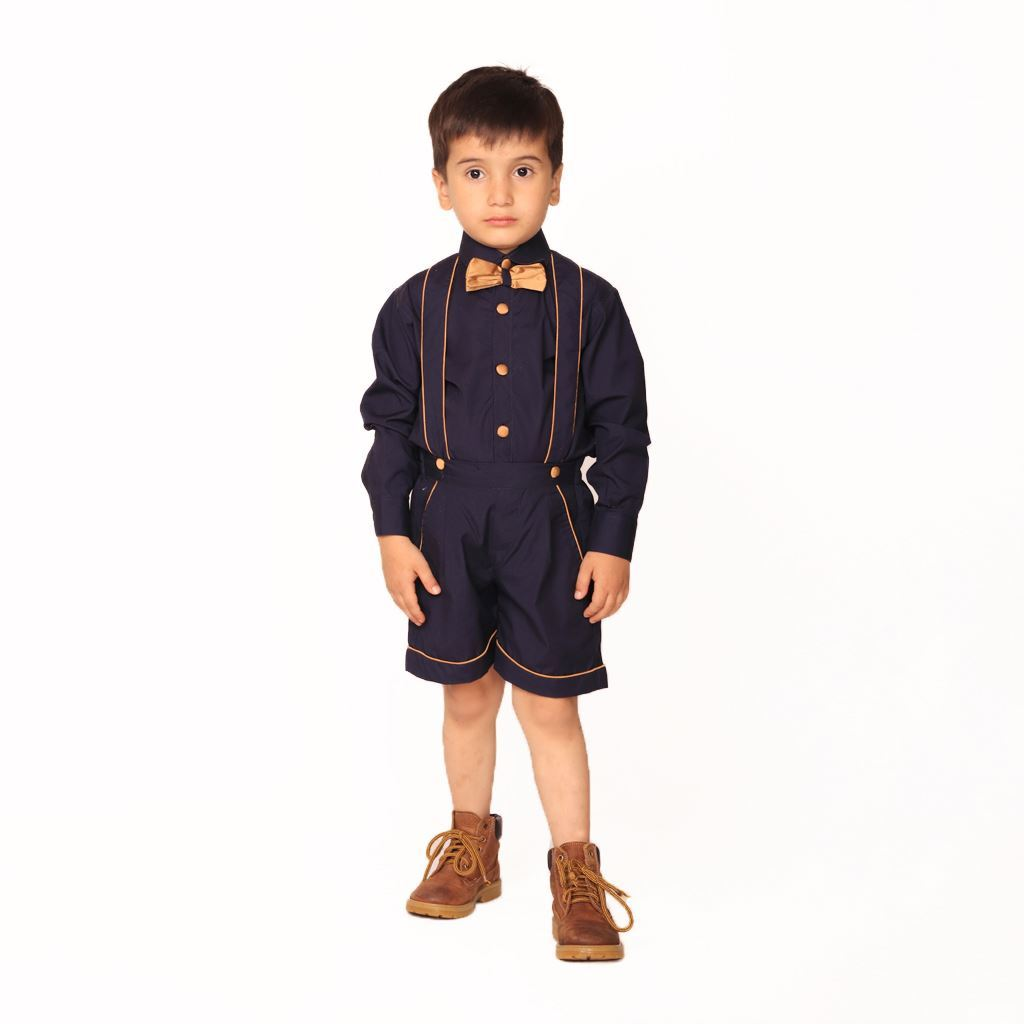 Shorts and shirt formal dress for boys by Lilchamps