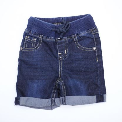 Denim Shorts for Boys-Front-Lilchamps