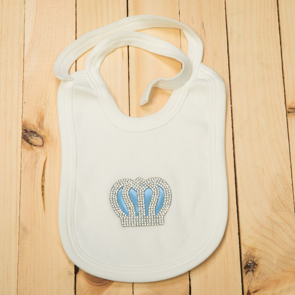 Light Blue-bibs for infants by lilchamps