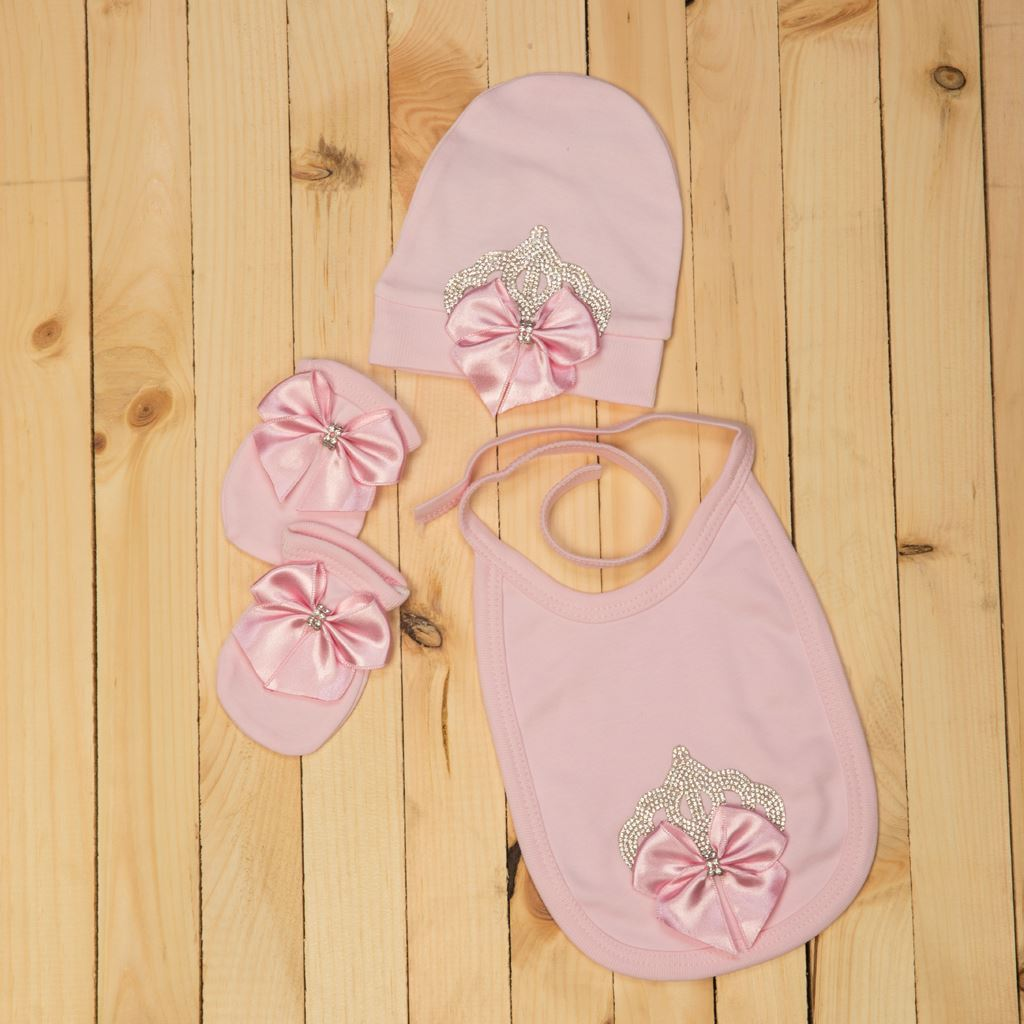 Pink-bibs for infants by lilchamps