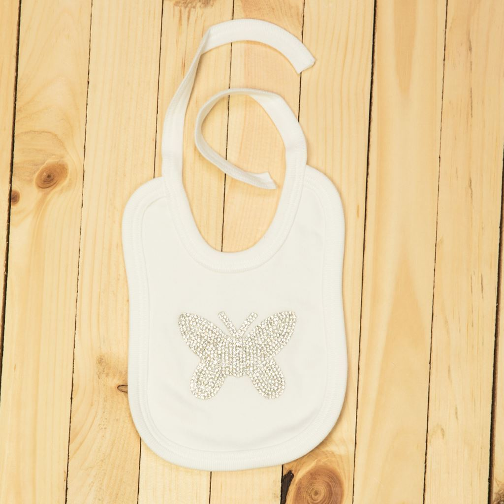 Tea pink-bibs for infants by lilchamps