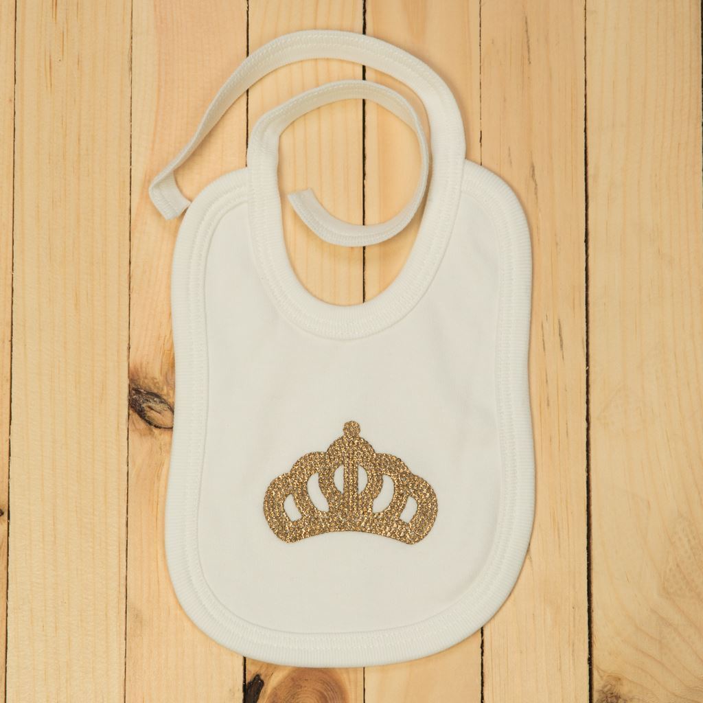 Golden and blue-bibs for infants by lilchamps
